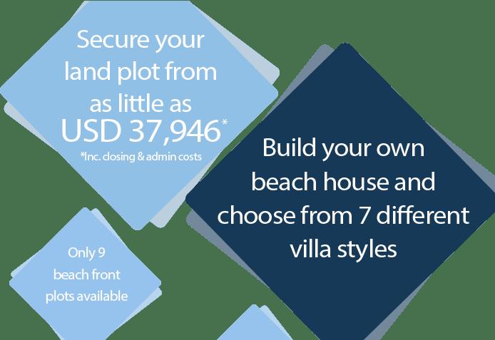 Build your beach villa in Brasil