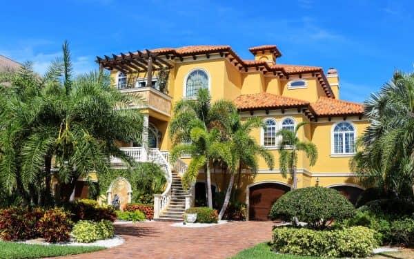 Spanish property villa